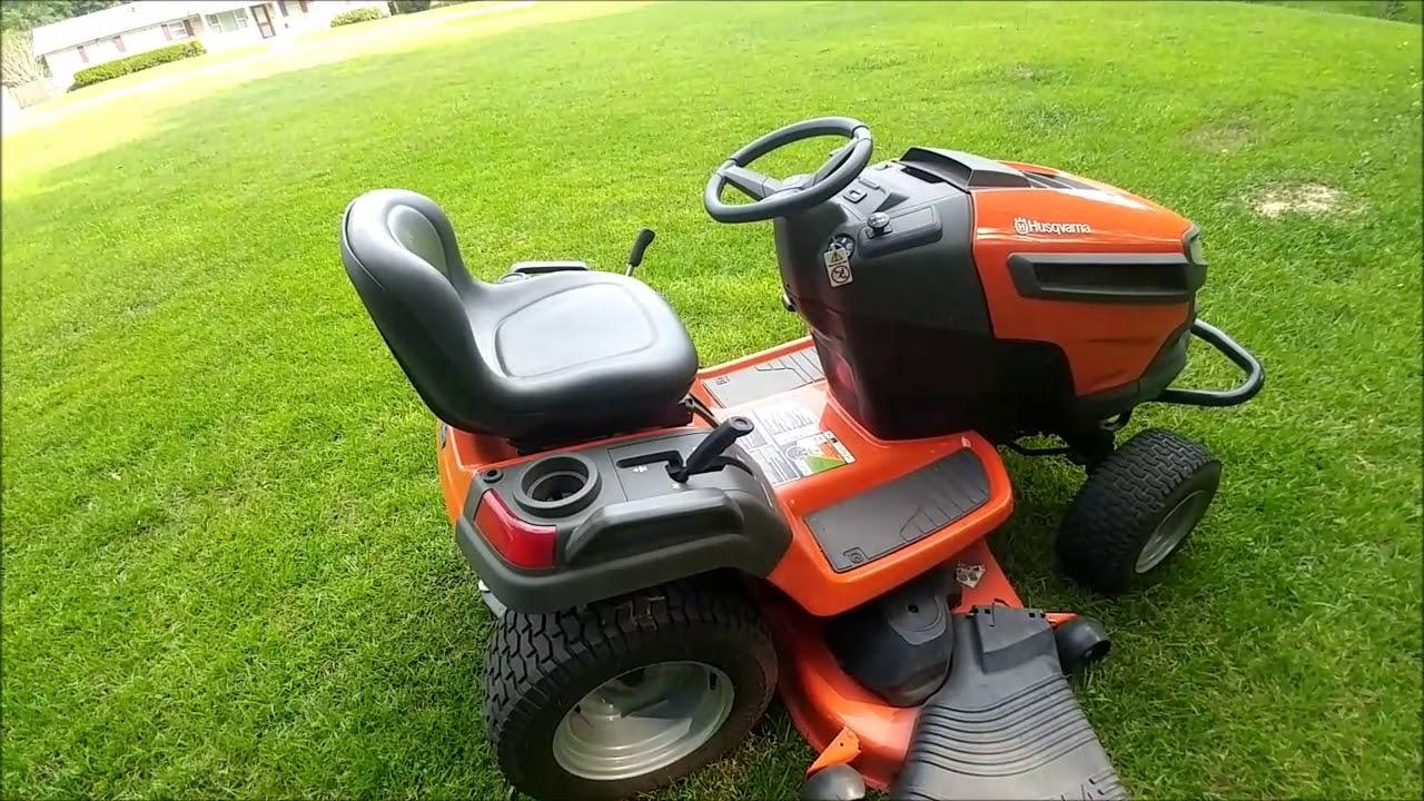 Husqvarna LGT 2654 Riding Lawn Mower Belt Problem Fix