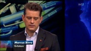 Marcus Birro möter Anders Lindberg (Aftonbladet) i en debatt om ytt...
