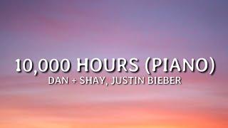 Download Dan + Shay, Justin Bieber - 10,000 Hours (Piano) (lyrics)
