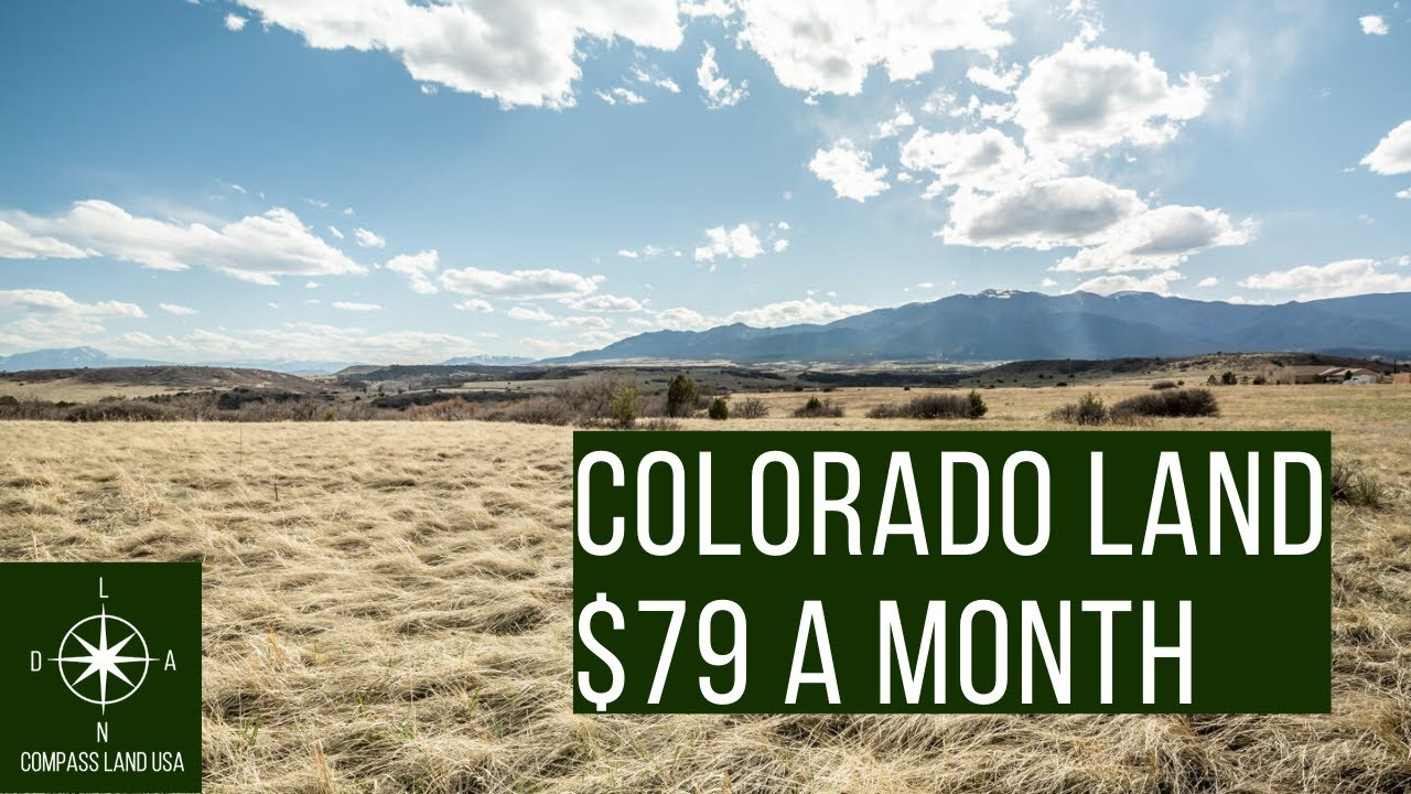 0.4 Acres Land in Colorado $79 a Month