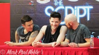 The Script - Pre-Concert CD Signing at Manila, 2015