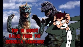 Top 10 Worst Kaiju from the Godzilla Franchise