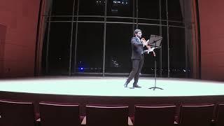 Matthew Weathers MM Recital