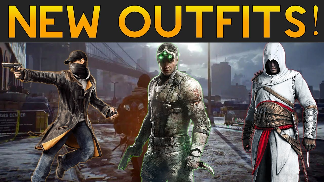 The Division - New Outfits Assassin's Creed Outfit ...