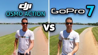 DJI Osmo Action vs GoPro 7: In-Depth Comparison! (4K)