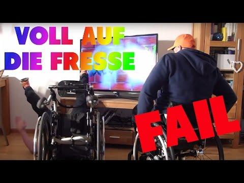 FAIL - Rollstuhl fahren