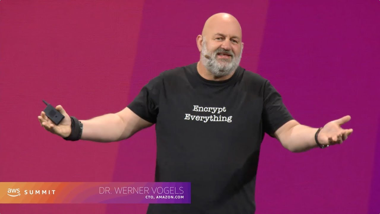 AWS Summit Series 2019 - Santa Clara: Keynote featuring Werner Vogels