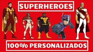 Tu Mundo Comics   Como Crear Superheroes 100% Personalizados   Online...!!!
