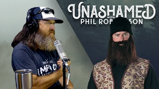 Criminal 'Duck Dynasty' Impersonators, Phil's Advice on Sex & How to Handle Temptation | Ep 126