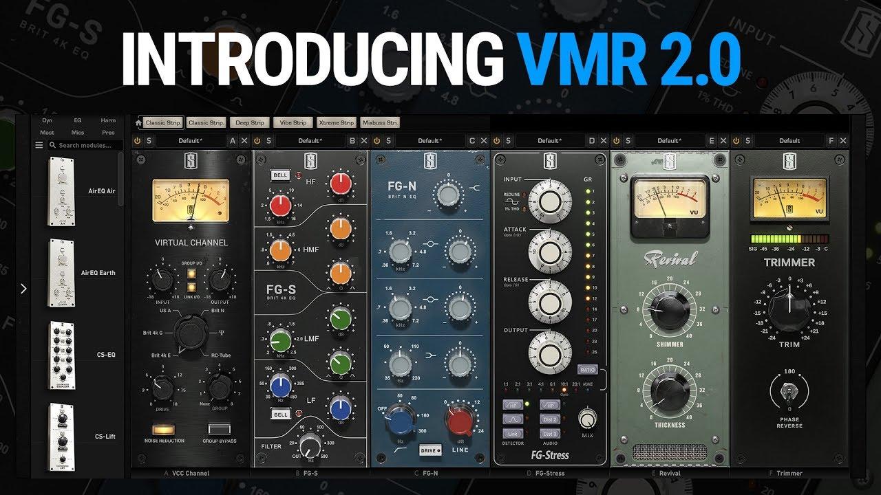 Slate Digital VMR 2 0 Virtual Mix Rack Plug-in Bundle (download