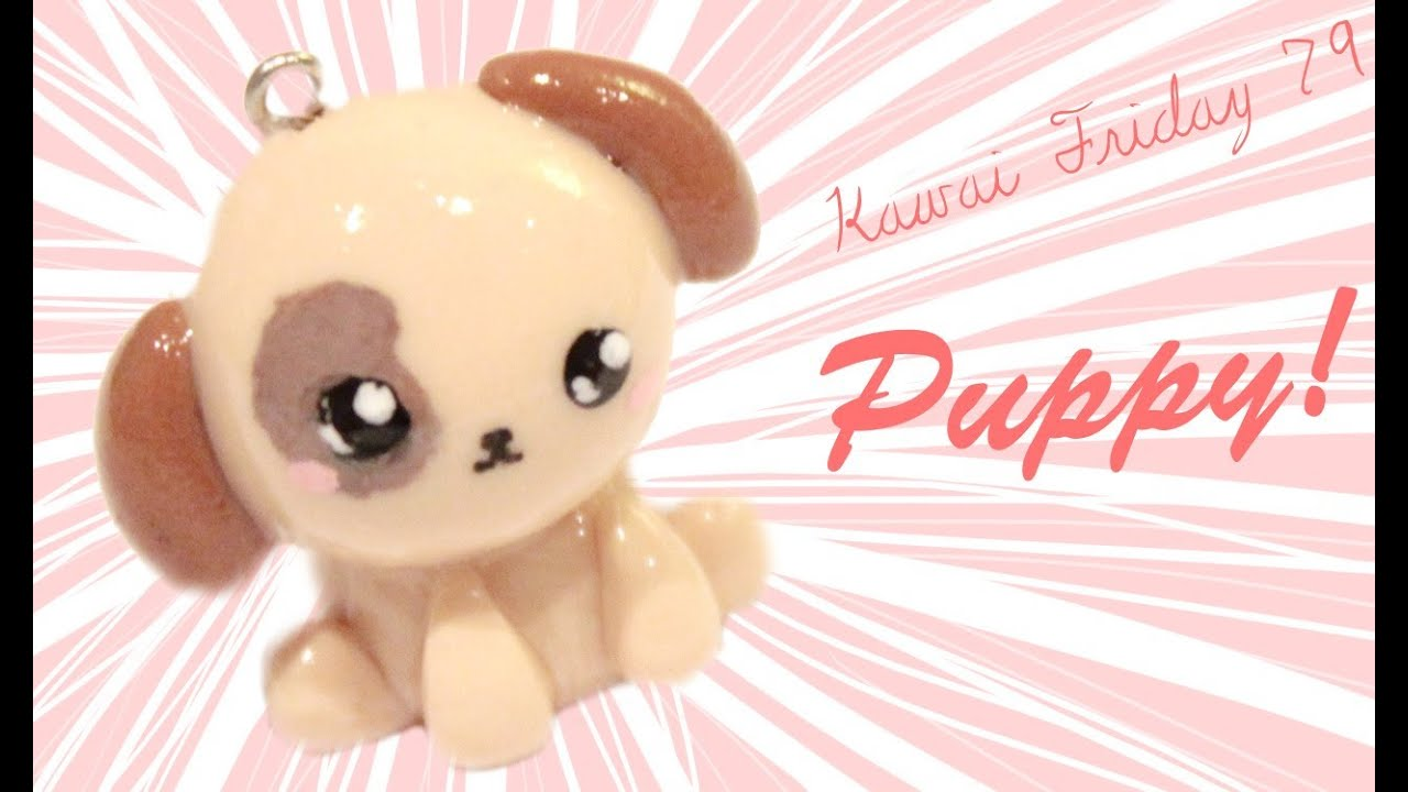 Puppy kawaii friday 79 tutorial in polymer clay youtube for Cute things to make out of clay