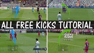 Repeat youtube video FIFA 15 FREE KICK TUTORIAL / How to score goals everytime / ALL Free Kicks Tutorial / FUT & H2H