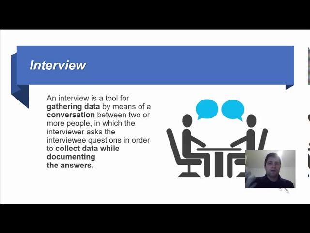 מבוא לביצוע ראיון בחקר שוק - חקר שווקים ראיונות חלק 1