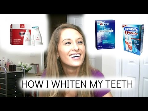 Best Drugstore Teeth Whitening Products | How I Whiten Teeth + Mini Reviews