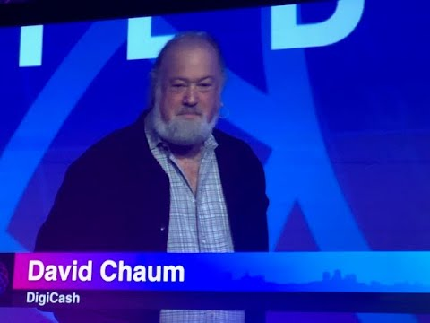The Father of Cryptocurrency David Chaum presents at Distributed San Fran July 19 2018