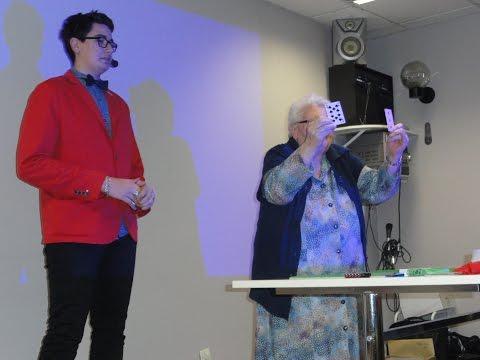 Spectacle personnes agées  capa 2 MFR Secondigny 2016