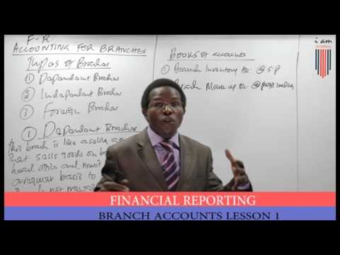 CPA FR Branch Accounts Lesson 1