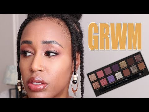 So, I Bought the Jackie Aina Palette.  For Spite. | Ti Talks GRWM thumbnail
