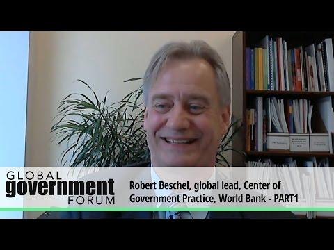 Robert Beschel, global lead, Center of Government Practice, World Bank