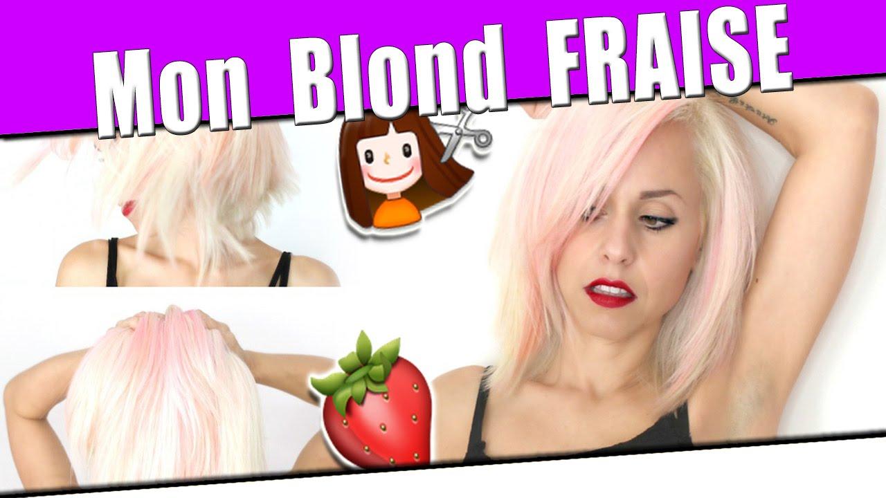 Achat teinture cheveux rose