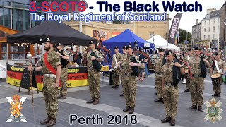 The Black Watch parade Perth - Homecoming 2018 [4K/UHD]