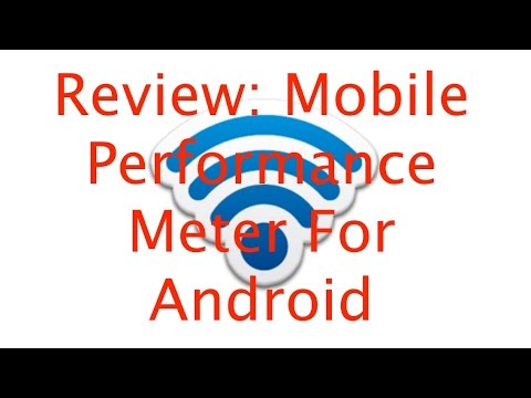 Review: Mobile Performance Meter For Android
