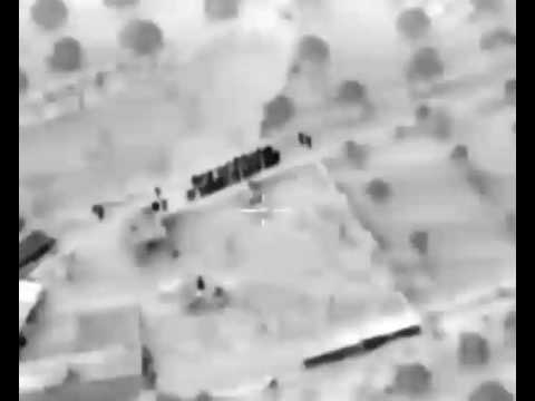 Russian Airstrike Drone Footage (Syria)