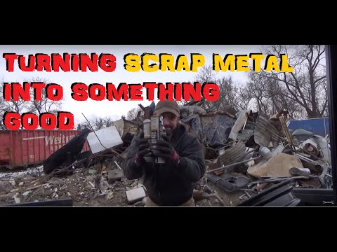 Turning Scrap Metal Into Something Good