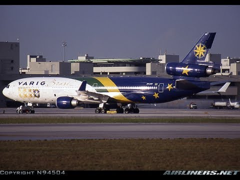 FSX - VOO RETRO DE BRASÍLIA PARA MANAUS (BSB-MAO)MD-11 VARIG