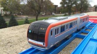 プラレール 東京メトロ10000系副都心線訪問ネブラスカ州知事ハウス、リンカーン  (02549)