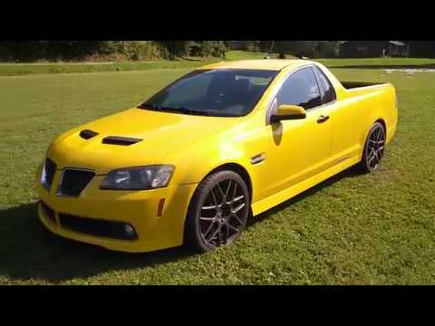Holden Ute? Nope! This Is A Conversion From A Pontiac G8!