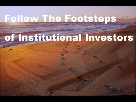 Stock Trading by Following Institutional Investments