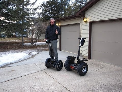 QUICK Start Guide for Self Balancing electric Vehicles with gliding tips.