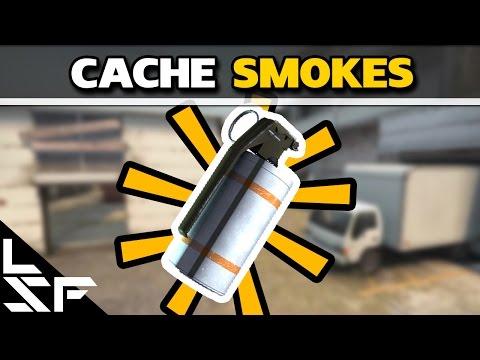 MUST KNOW CACHE SMOKES - CS:GO Smoke Tutorial