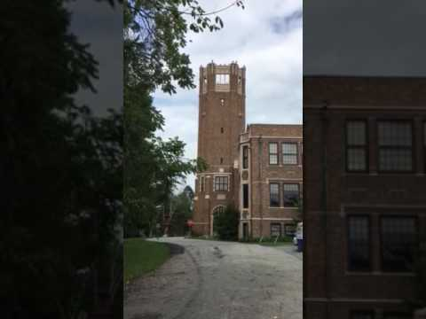 Electronic carillon at Indiana School for the Blind