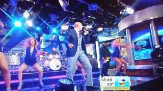Pitbull Don't Stop the Party live on GMA AMA