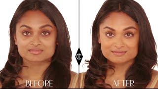 How to cover up dark circles: Charlotte Tilbury Magic Foundation Makeup Tutorials