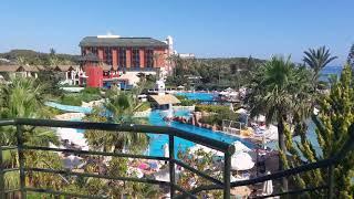 VLOG Отдых в отеле Pegasos Royal Hotel 5 Турция Аланья июль 2017