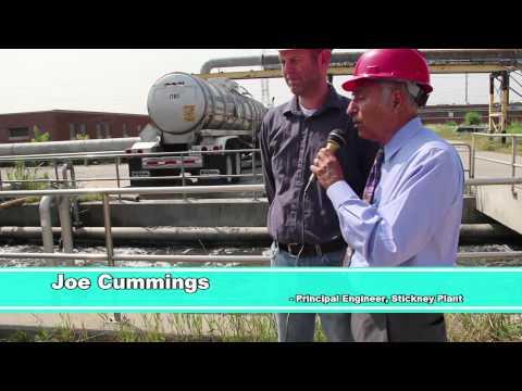 Commissioner Avila Tours the Stickney Plant