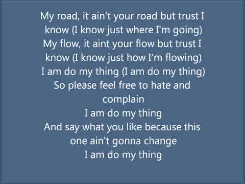 Do my thing - Estelle feat. Janelle Monáe (Lyrics on screen)