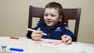 Who Ruined Valentines Day- fun kids pretend play Valentine prank
