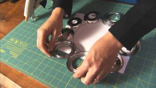 How to Make a Wreath with an Industrial Look