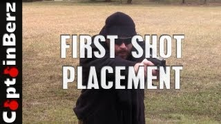 First Shot Placement/Drawing From Holster Drill