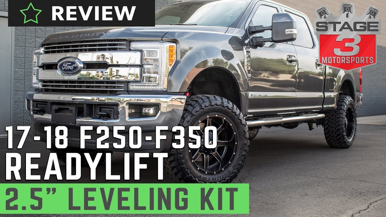 2017 Super Duty ReadyLIFT 2.5 Inch Front Leveling Kit ...