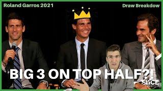 Roland Garros 2021 DRAW BREAKDOWN   THE SLICE