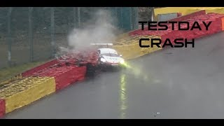 Testday GTE, LMP3, TCR,... Spa-Francorchamps 2018, best of + crash