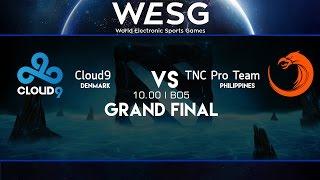WESG World Finals : Cloud9 vs TnC - พากย์ไทย (Thai Language)