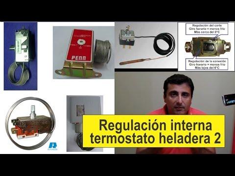 Curso de refrigeraci n regulaci n de termostato 1 doovi for Clases de termostatos