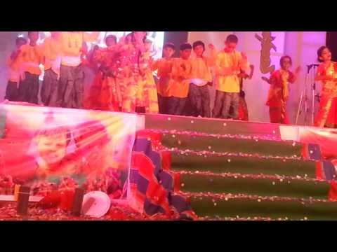 Khairagarh darshika dance in milestone school