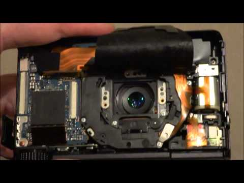 Cleaning CCD / Lens on a Sony RX100